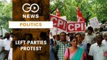 Left Parties Protest Against Article 370 Abrogation