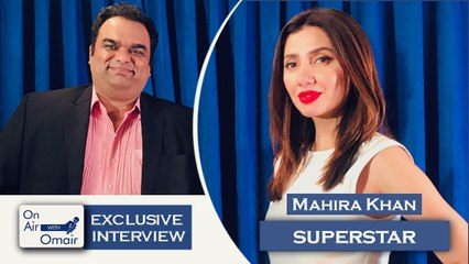 Mahira Khan - On Air With Omair Interview with Mahira Khan