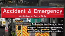 How the ambulance service responds to emergencies