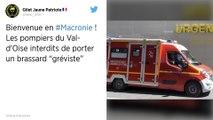 Val-d'Oise : Des pompiers grévistes visés par une procédure disciplinaire