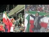Coupe du monde 2018 : Des Iraniennes assistent à un match de foot masculin