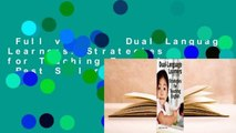 Full version  Dual-Language Learners: Strategies for Teaching English  Best Sellers Rank : #5