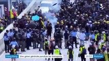 Vols annulés, métro bloqué, commerces fermés... Une grève générale paralyse Hong Kong