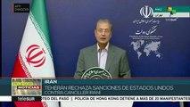 Teherán rechaza sanciones de EE UU  contra el canciller Javad Zarif