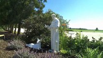 30 Fatima Pilgrimage walk across USA  # Hanging with doves, Mass and Confession at the spot ST MARY appeared in the USA