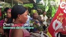 Grève illimitée des femmes de chambre d'un hôtel Ibis