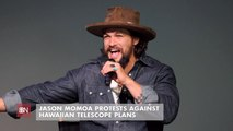 Jason Momoa Backs Hawaii Protestors