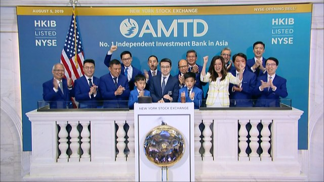 Hong Kong-Based AMTD International Lists on New York Stock Exchange