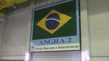 La central nuclear brasileña, en medio de un paraíso