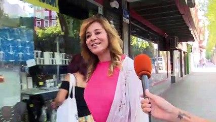 Ana María Aldón en su primer día como profesora