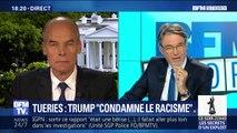 """Donald Trump dénonce """"des crimes contre l'humanité"""""""