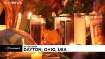 Ohio'daki saldırının ardından halk ölenlerin anısına gece nöbeti tuttu
