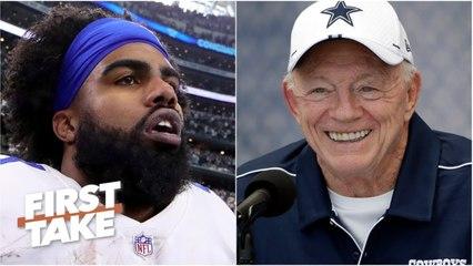 Cowboys will 'blink first' and pay Ezekiel Elliott - Max Kellerman - First Take