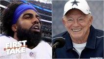 Cowboys will blink first and pay Ezekiel Elliott - Max Kellerman - First Take