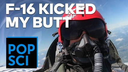 Flying in an Air Force F-16 | I PUKED 3 TIMES
