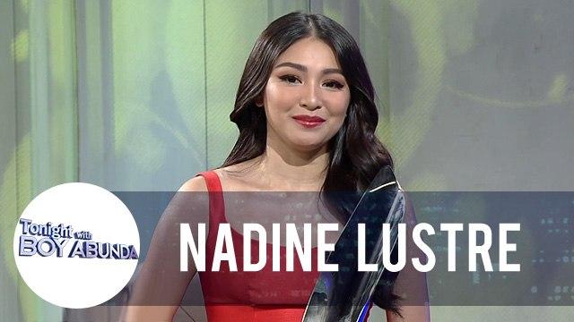 Nadine shares her impromptu speech for her Gawad Urian   TWBA