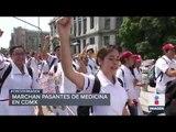 ¿Por qué protestaron médicos pasantes en la CDMX? | Noticias con Ciro Gómez Leyva