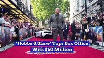 'Hobbs & Shaw' Tops Box Office With $60 Million