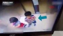 Elle sauve son petit frère dans un ascenseur... de justesse