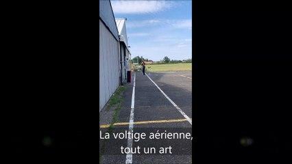 De la voltige aérienne à Montceau-les-Mines