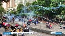 Hong Kong : une grève générale historique pour faire pression sur les autorités