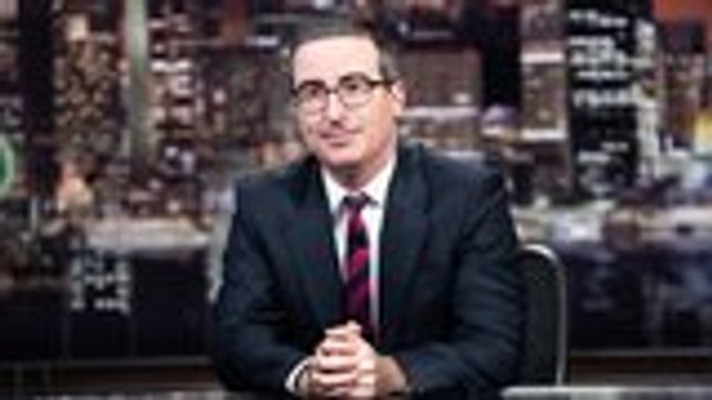 John Oliver Responds to Mass Shootings in El Paso and Dayton   THR News