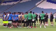 (Subtitled) Xavi expects Al Sadd to beat Al-Duhail as he prepares for his coaching debut in AFC Champions League