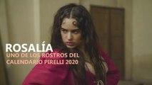 Rosalía, uno de los rostros del Calendario Pirelli 2020