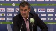 Conférence de presse de Rui Almeida après SMCaen / FC Lorient
