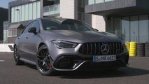 Mercedes-AMG CLA 45 S 4MATIC+ Design in mountain gray