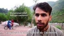 """Des réfugiés dans le Cachemire pakistanais """"inquiets"""" par la décision indienne"""