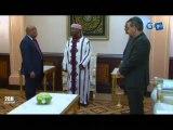 RTG/Le Chef de l'Etat reçoit le Ministre de l'Economie, le Maire de la commune de Libreville et le Haut Commissaire à l'Environnement