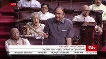 LoP Rajya Sabha, Ghulam Nabi Azad on scrapping of Article 370