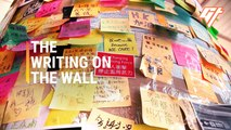 Hong Kong's Sticky Note Protest Walls Explained