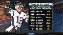 Tom Brady Now Sixth-Highest Paid Quarterback For 2019 Season