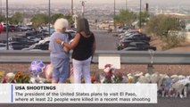 Trump to visit El Paso after mass shooting that killed at least 22 people