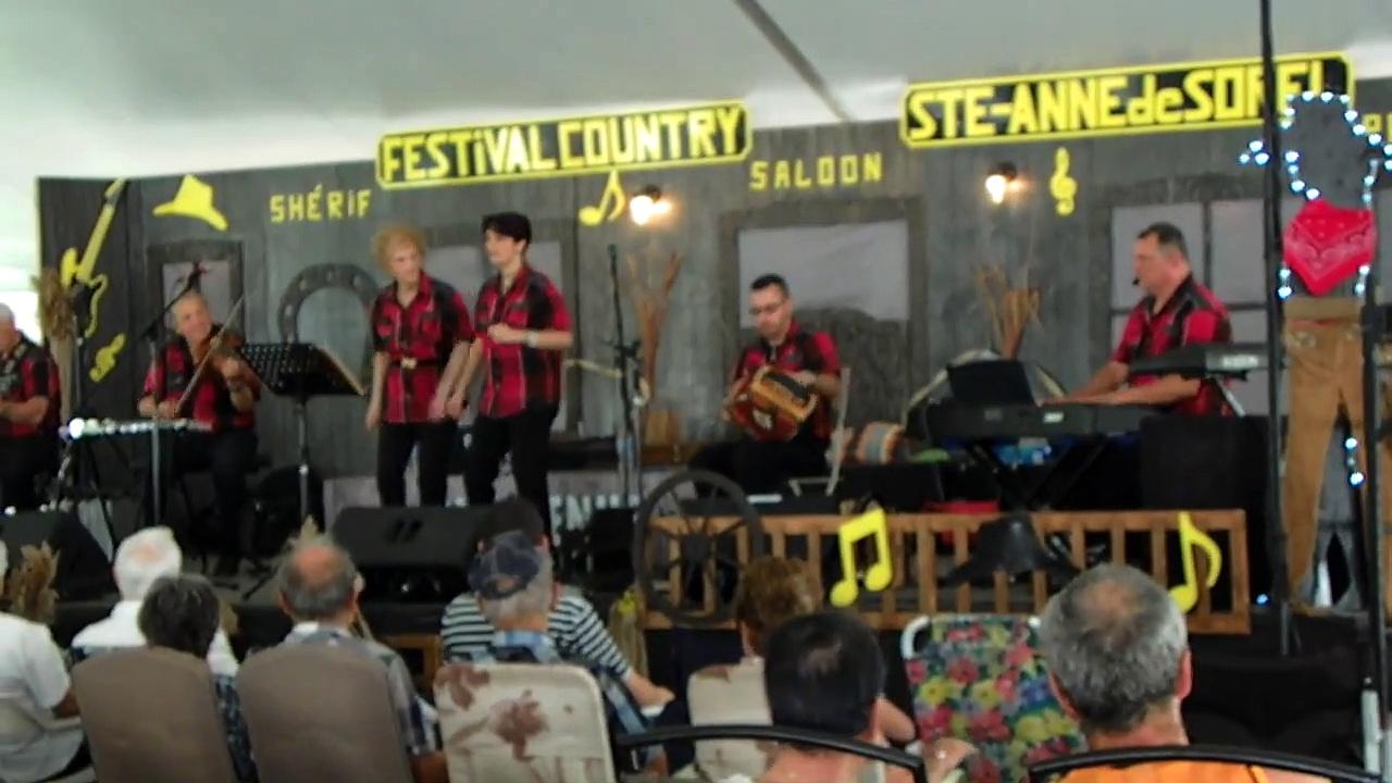 Compilation de Éric Gagne et la famille Pinard au festival de Ste-Anne de Sorel 18 juin 2017