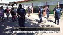 Partage d'expérience entre policiers de Papeete et de Moorea