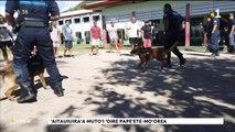 TH : Partage d'expérience entre policiers de Papeete et de Moorea