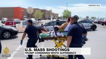Trump condemns white supremacy after El Paso mass shooting