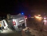 Ankara'da feci kaza: 1 ölü, 1'i ağır 2 yaralı