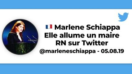 Marlène Schiappa allume un maire RN sur Twitter