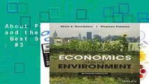 About For Books  Economics and the Environment  Best Sellers Rank : #3