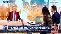 L'édito de Christophe Barbier: Le pouvoir ne chôme pas durant les vacances
