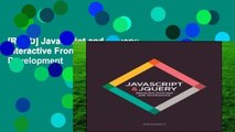 [READ] JavaScript and JQuery: Interactive Front-End Web Development