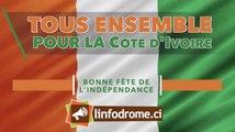 Linfodrome.ci vous souhaite une très belle fête de l'indépendance !