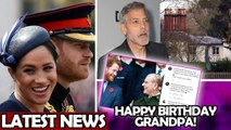 Meghan - Harry News / George Clooney Talks Dinner Dates At Frogmore - Prince Philip Birthday
