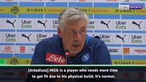 Carlo Ancelotti prefers Napoli to keep clean sheets than score goals