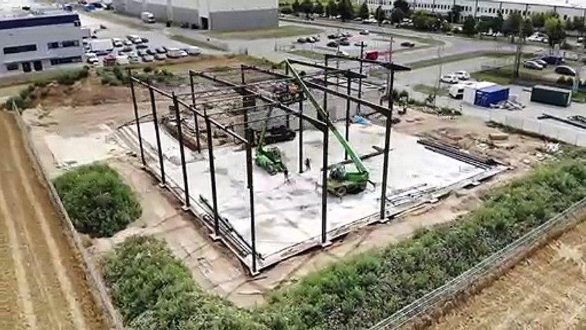 Aktualizacja z budowy nowej siedziby JÓŹWIAK