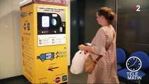 À Rome, recycler ses bouteilles de plastique permet de payer son ticket de métro